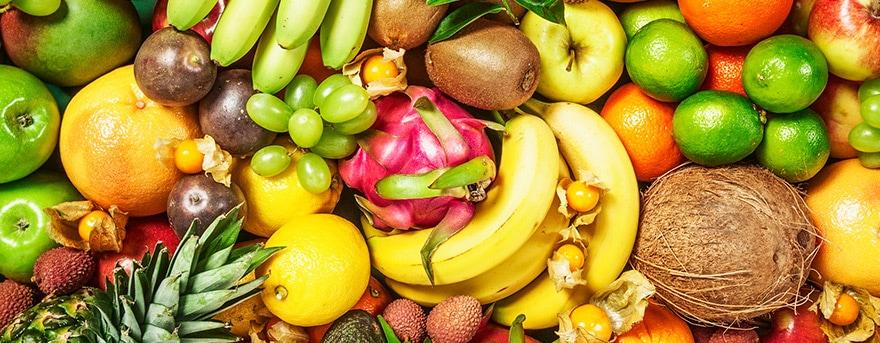 6 frutas saudáveis para o cardápio diário.