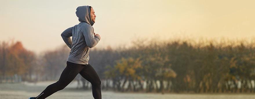 Benefícios da atividade física no inverno.
